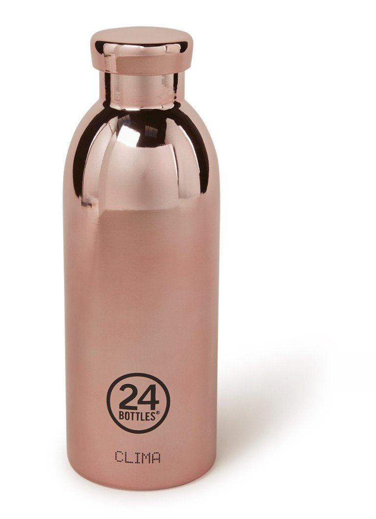 24Bottles - Rose Gold Clima Bottle drinkfles 500 ml - Roségoud