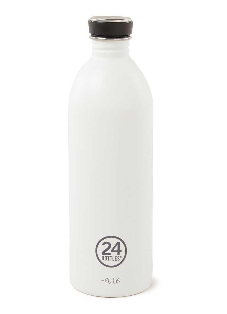 24Bottles - Urban Bottle drinkfles 1 liter  - Wit