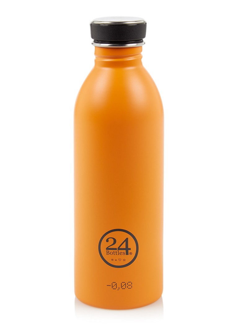 24Bottles - Urban Bottle waterfles 500 ml - Oranje