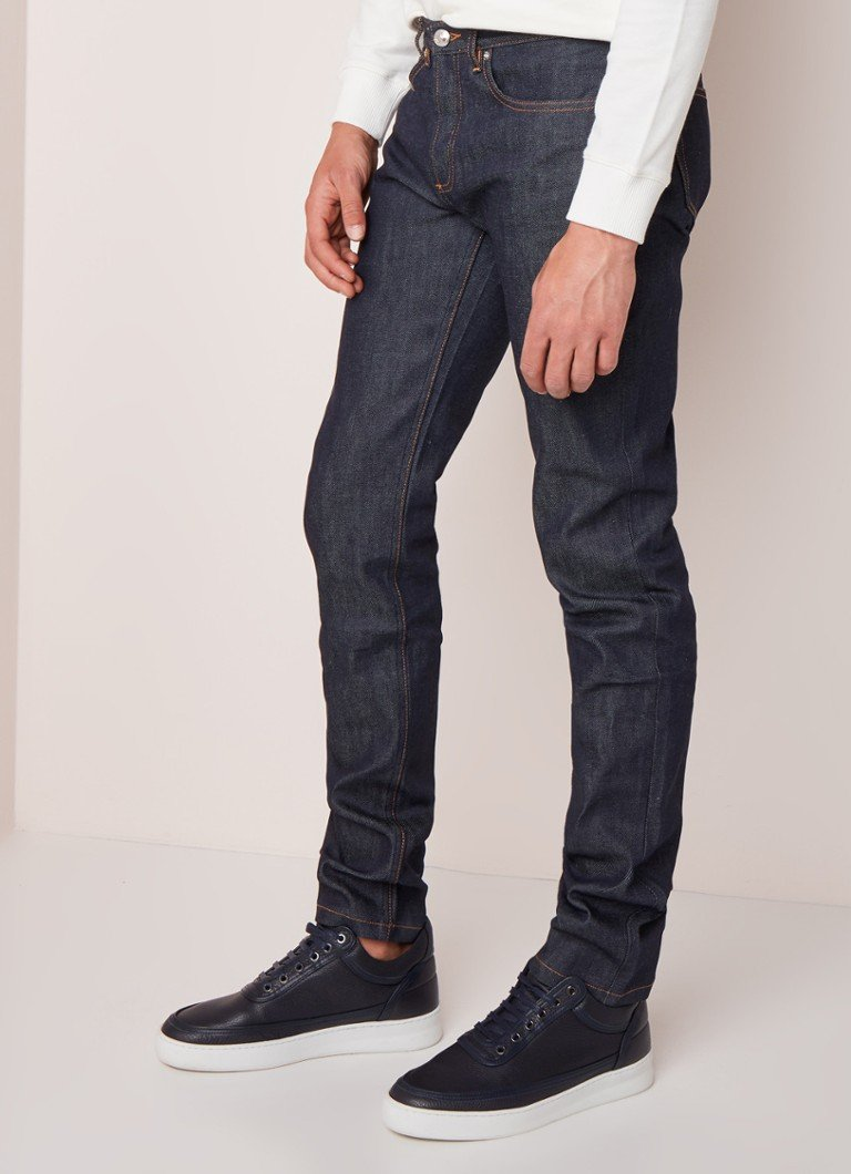 A.P.C. - Petit Standard straight fit jeans met donkere wassing - Indigo
