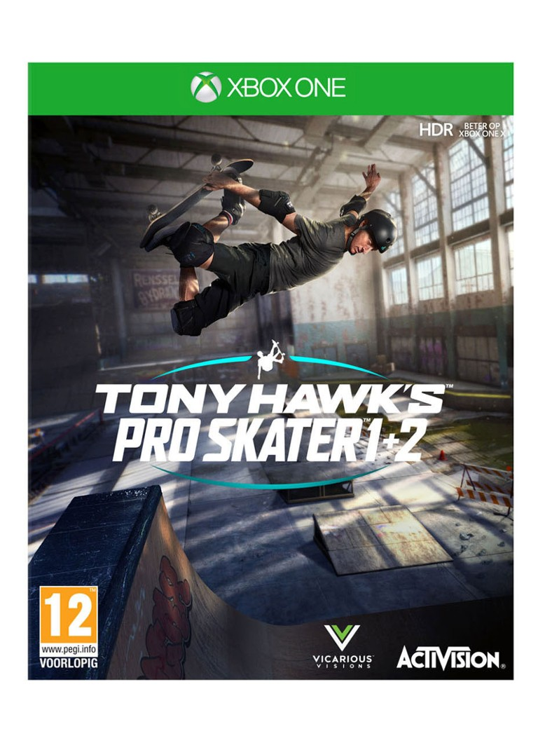 Activision - Tony Hawk's Pro Skater 1+2 - Xbox One - set van 2 games - null