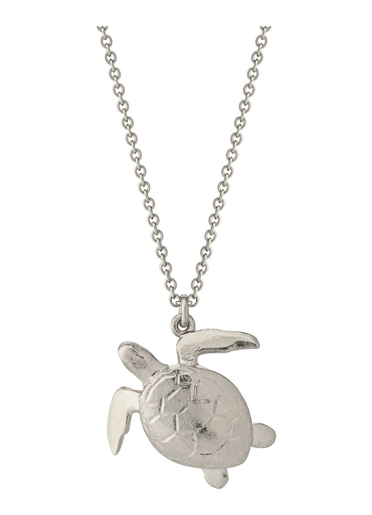 Alex Monroe - Sea Turtle ketting zilver - Zilver