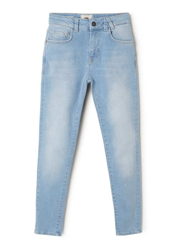 America Today - Kid tapered fit jeans met stretch  - Lichtblauw