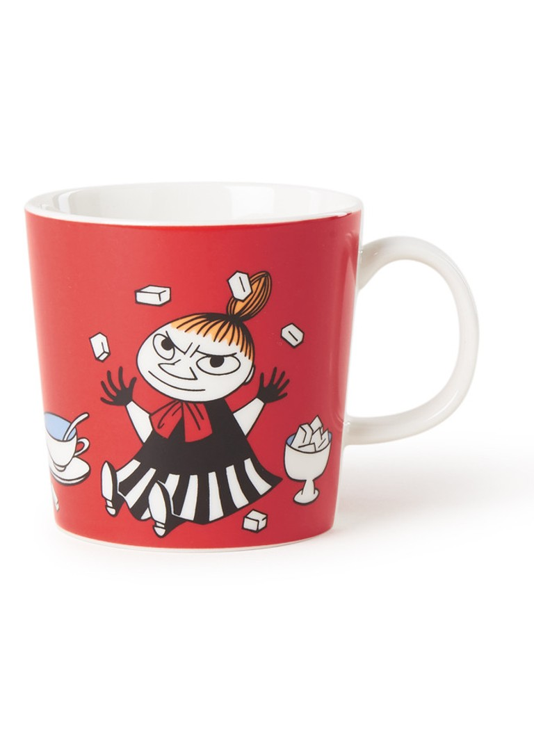 Arabia - Little My Moomin kopje 30 cl - Rood