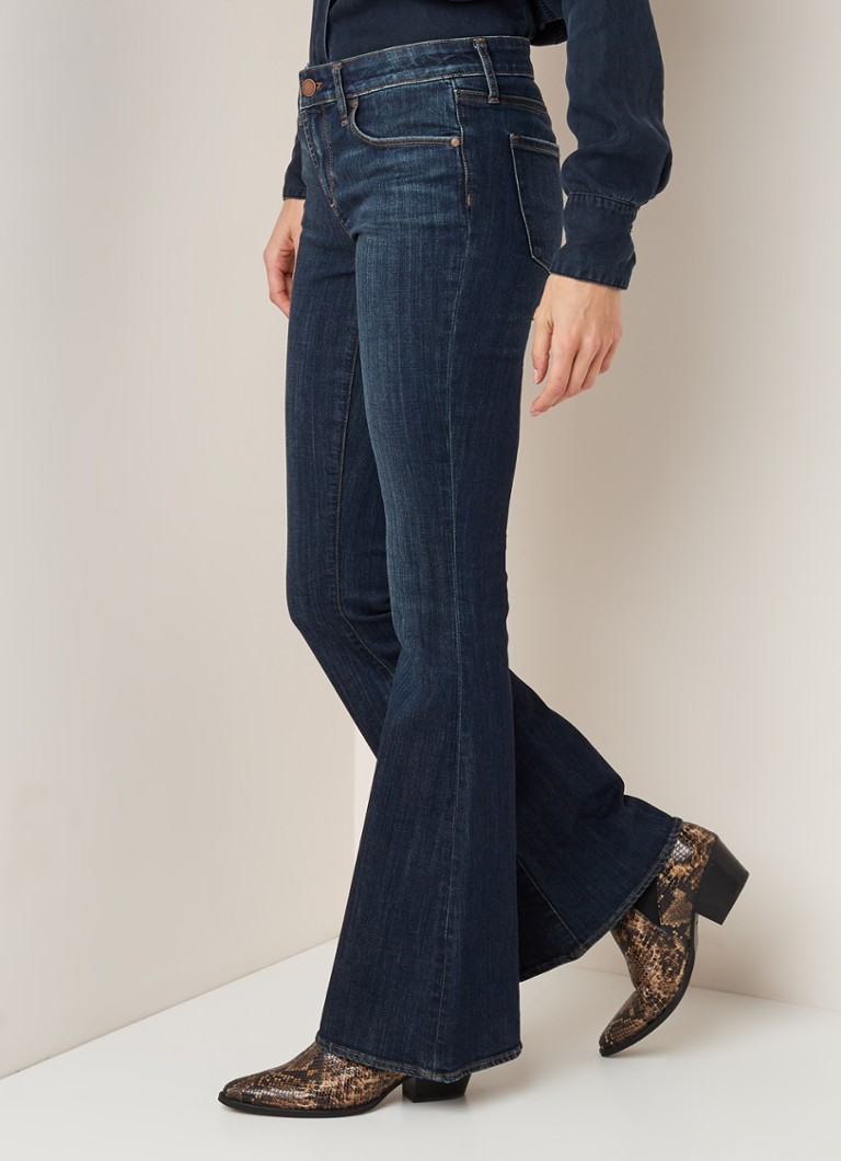 Articles of Society - Articles of Society Faith high waist bootcut jeans - Indigo