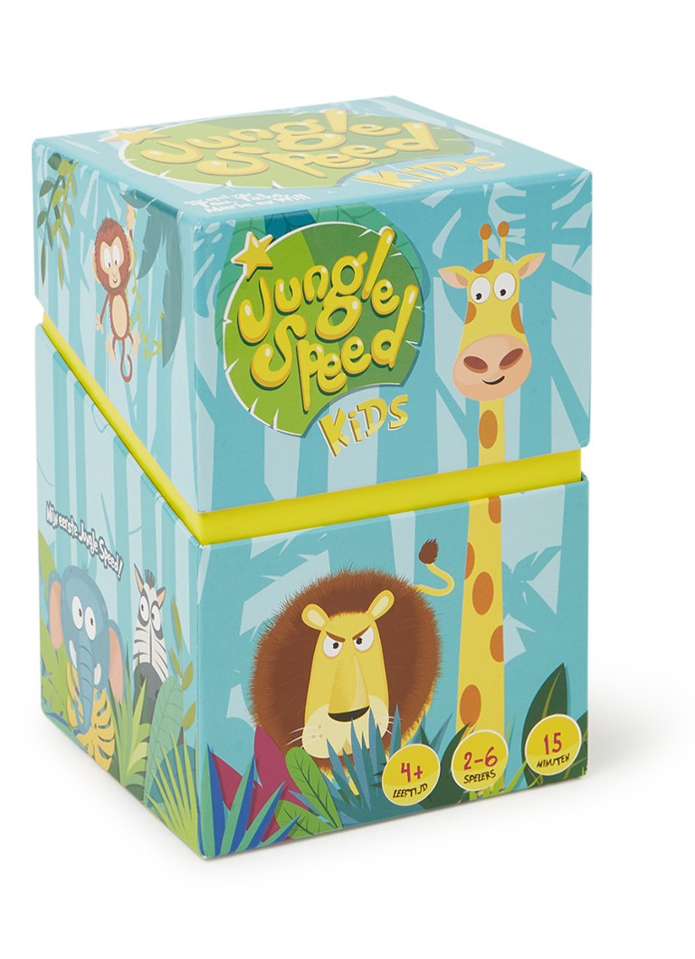 Asmodee - Jungle speed kids kaartspel - Lichtblauw