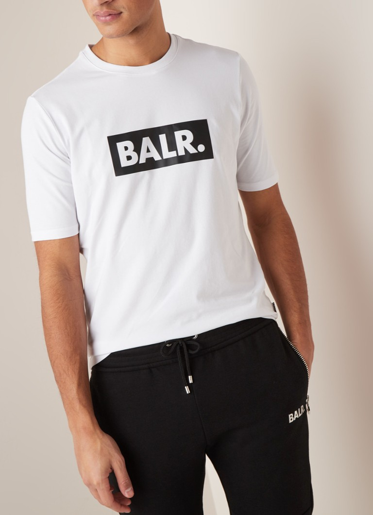 BALR. - Club T-shirt met logoprint - Wit