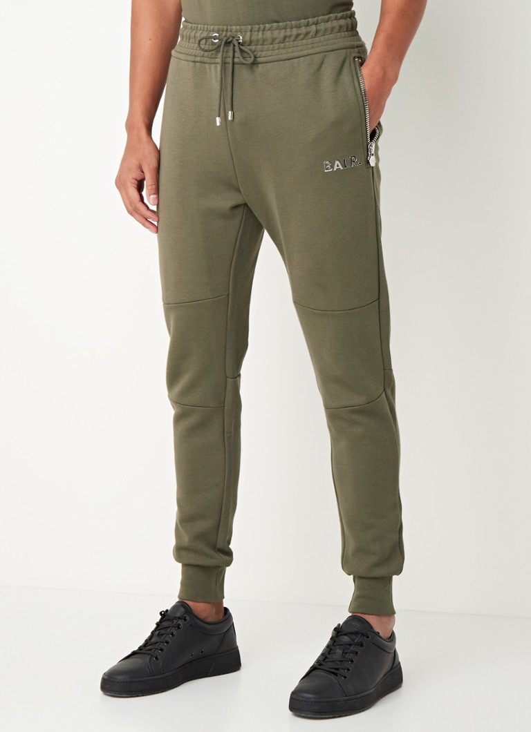 BALR. - Q-Series loose fit joggingbroek met logo-applicatie - Legergroen