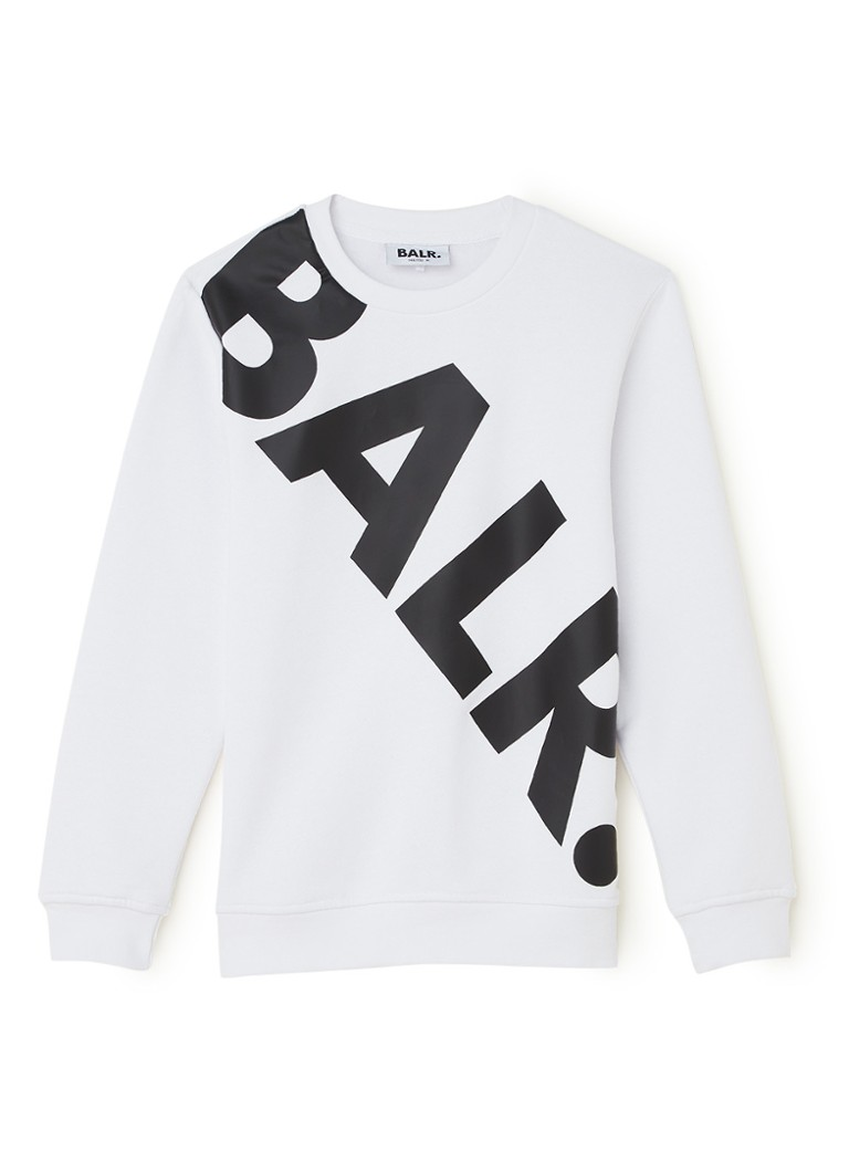 BALR. - Sweater met logoprint - Wit