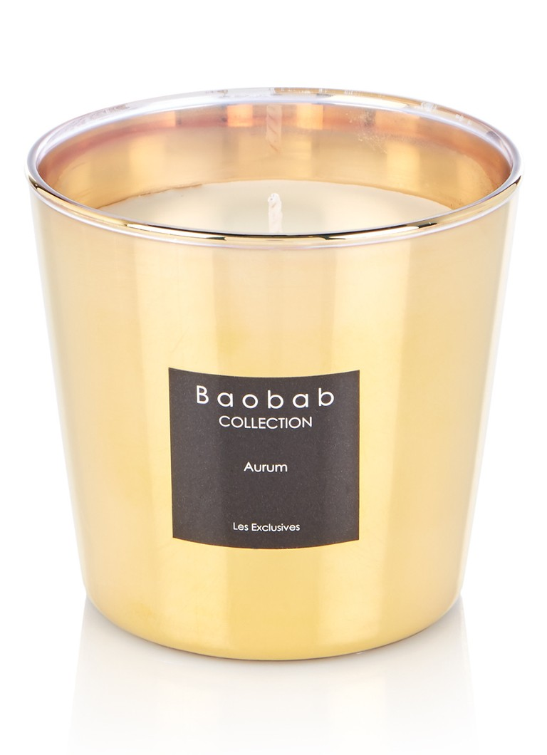 Baobab Collection - Aurum geurkaars - Goud