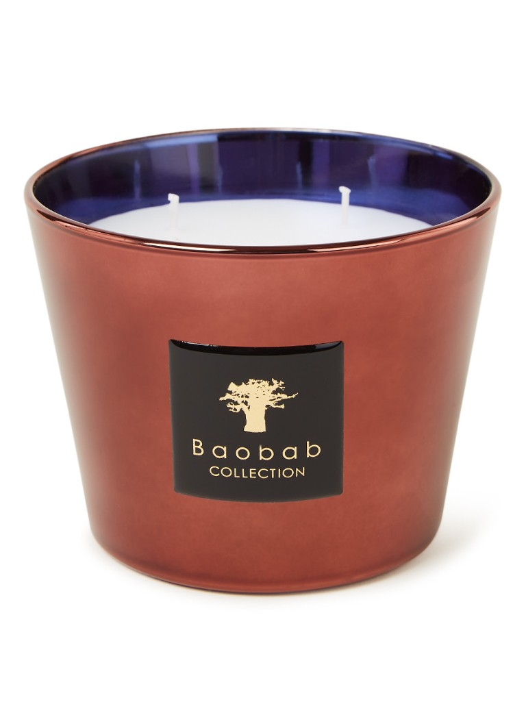 Baobab Collection - Les Exclusives Cyprium geurkaars - Steenrood