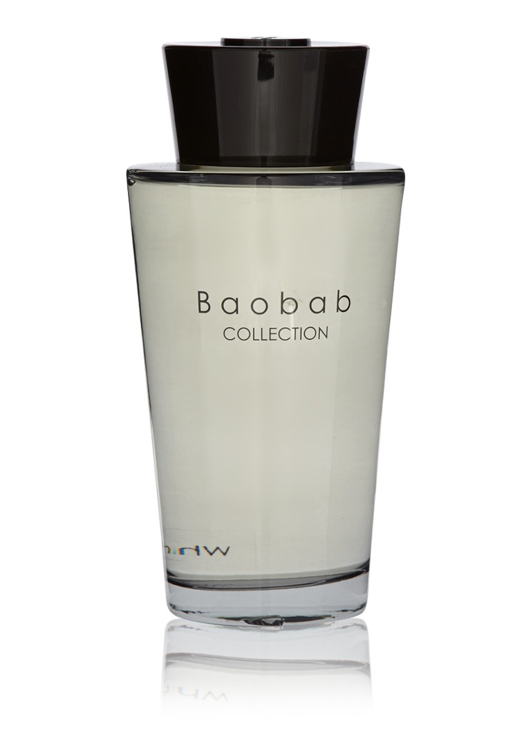 Baobab Collection - White Rhino Africa geurstokjes 500 ml - Grijs