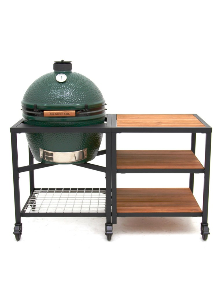 Big Green Egg - Buitenkeuken met kamado barbecue Large  - Groen