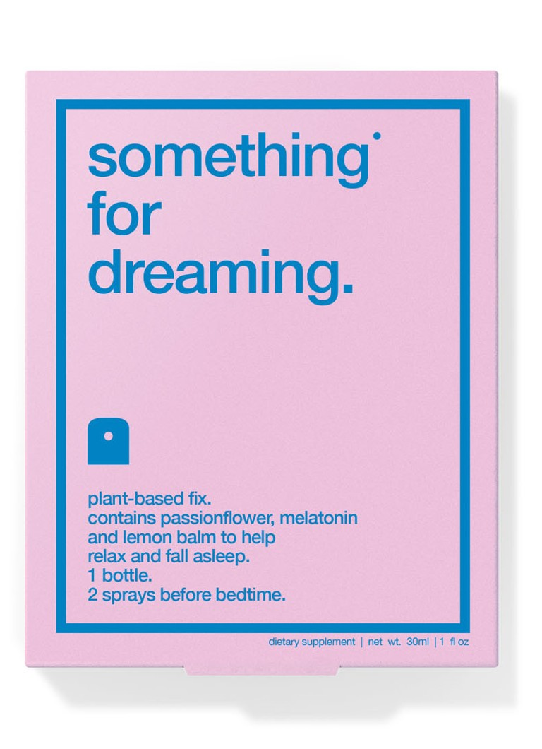 Biocol Labs - something for dreaming - voedingssupplement spray - null