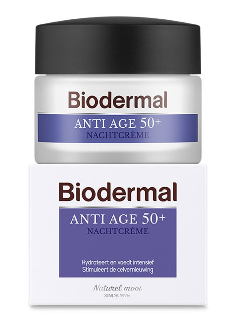 Biodermal - Anti Age Nachtcrème 50+ -