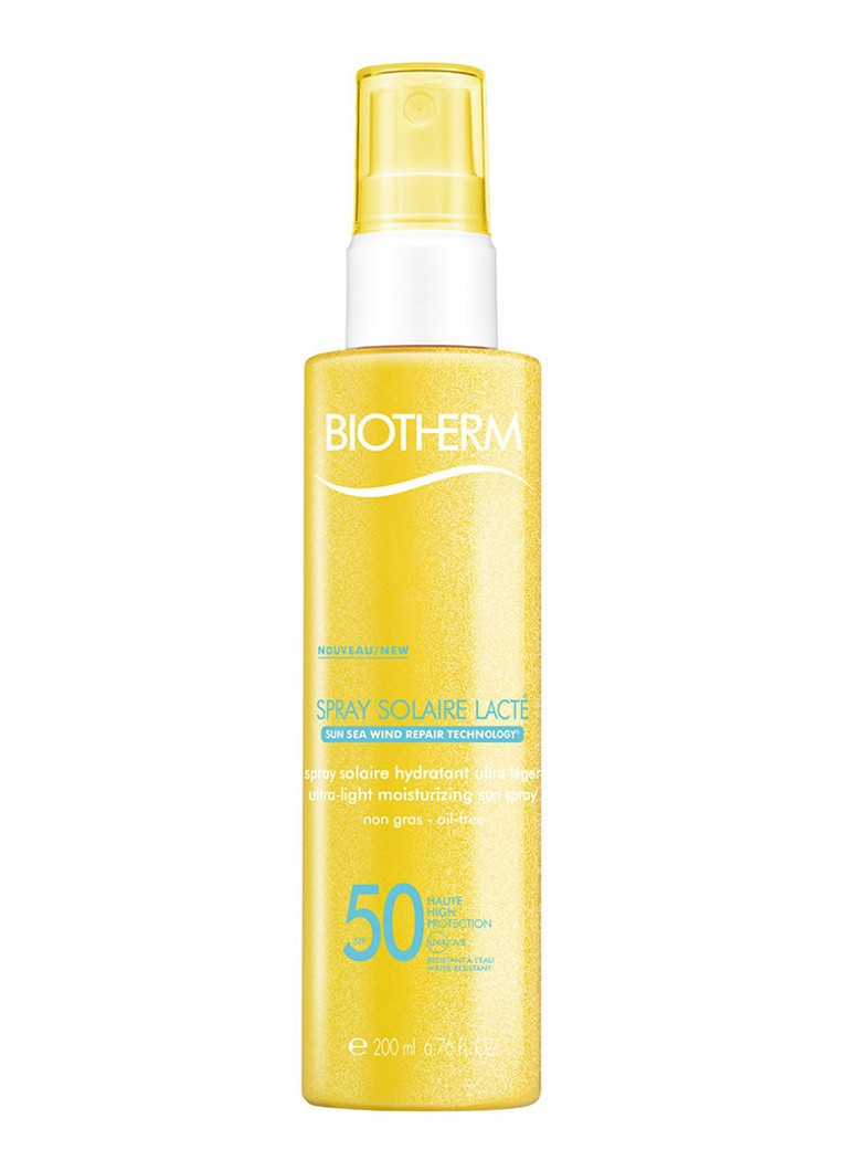 Biotherm - Spray Solaire Lacté SPF 50 - zonnebrand - null