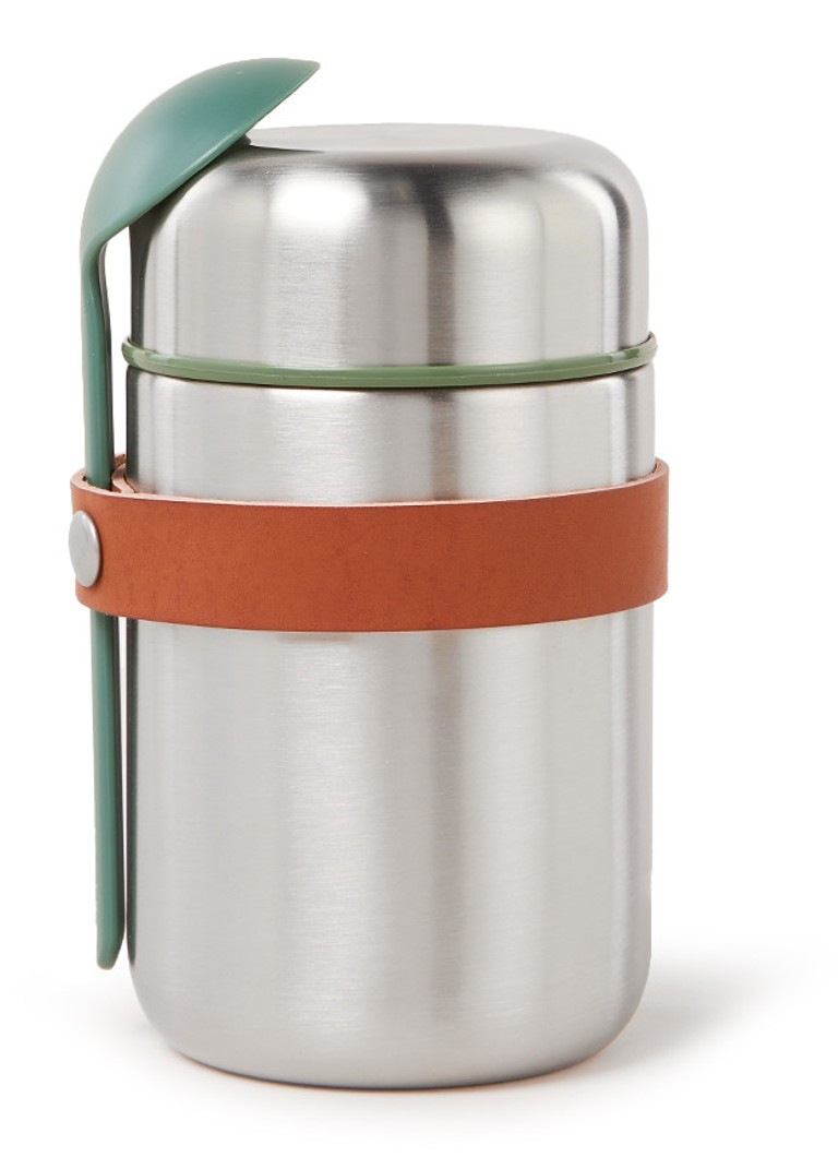 black + blum - Thermos voedselcontainer  - Zilver