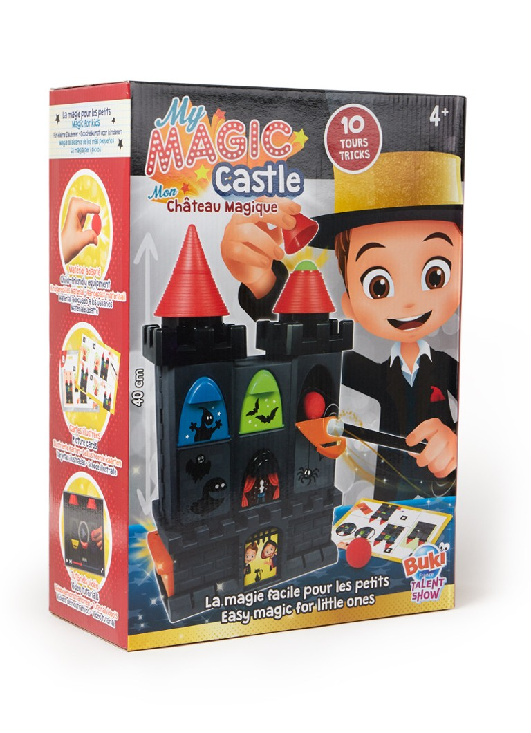 Buki - My Magic Castle goochelpakket  - Zwart
