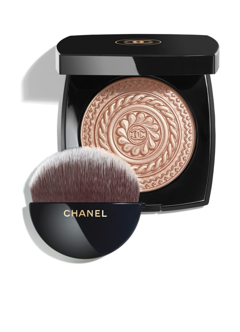 CHANEL - ÉCLAT MAGNÉTIQUE DE CHANEL EXCLUSIEVE CREATIE – LIMITED EDITION HIGHLIGHTER - METAL PEACH