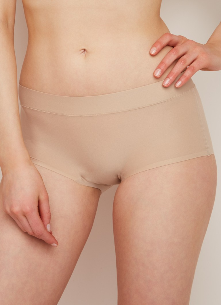 Chantelle - Soft Stretch One-size-fits-all naadloze shorty - Beige