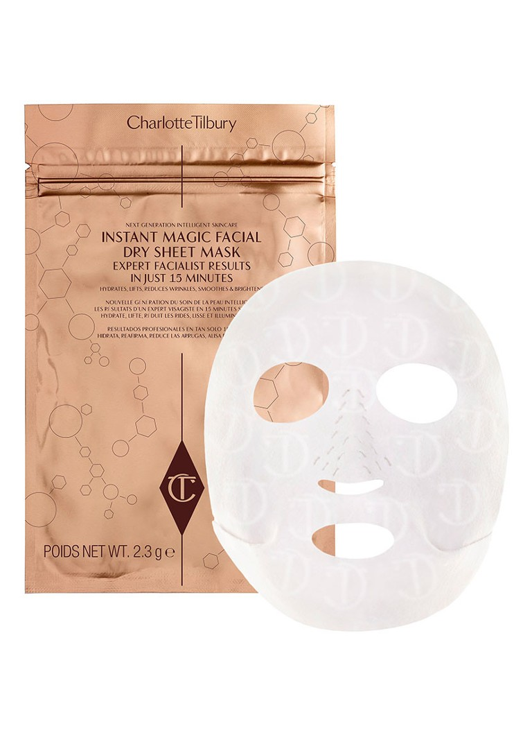Charlotte Tilbury - Instant Magic Facial Dry Sheet Mask - masker -