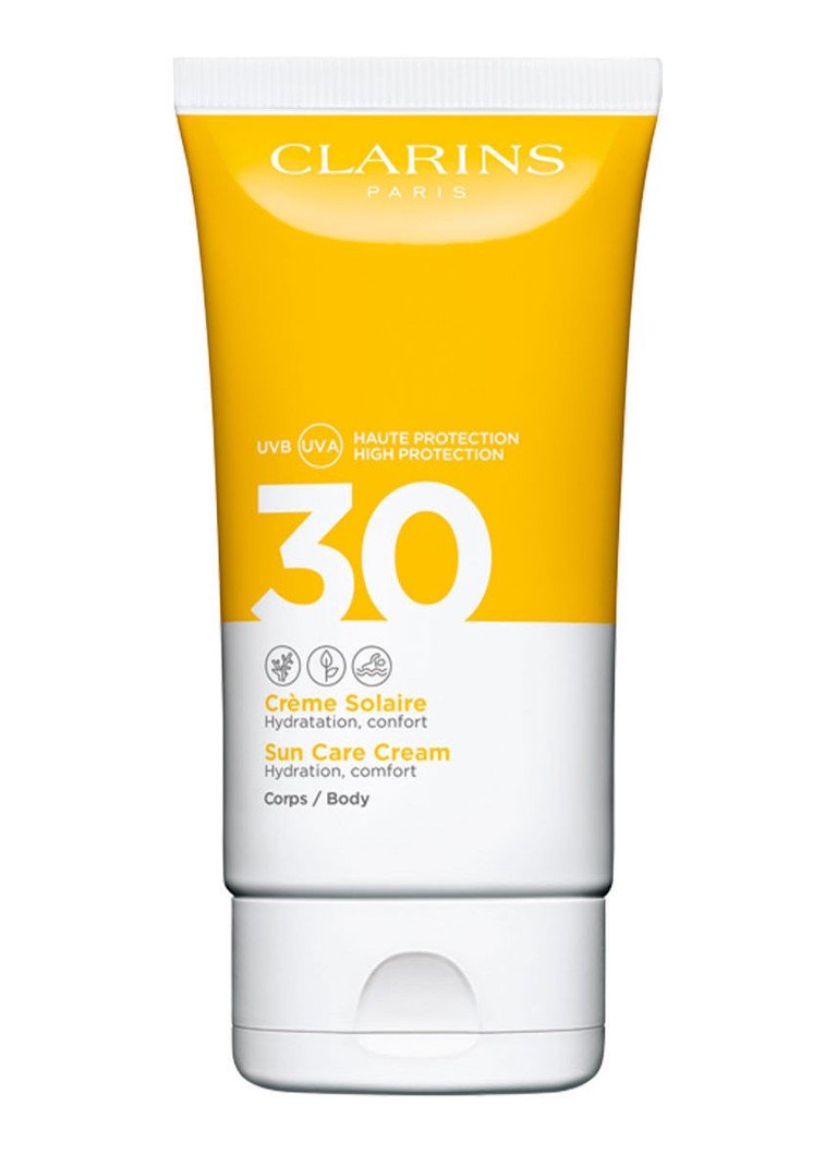Clarins - Crème Solaire SPF 30 Body - zonnebrand - null