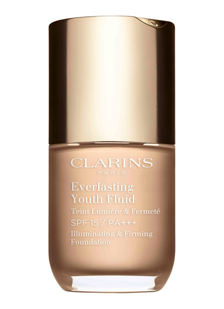 Clarins - Everlasting Youth Fluid SPF 15 / PA+++ - foundation - 103 - Ivory