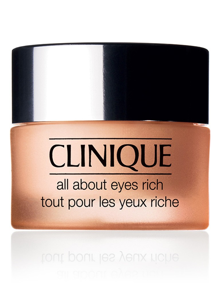 Clinique - All About Eyes Rich - droge huid - oogcrème -
