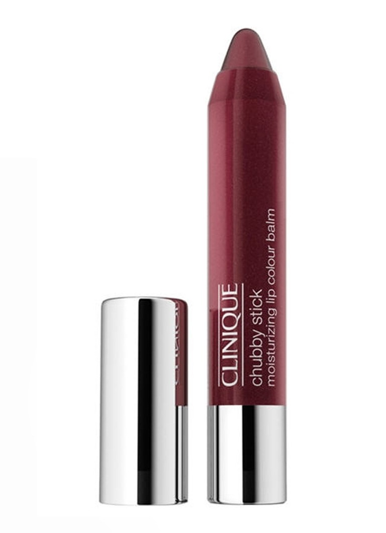 Clinique - Chubby Stick Moisturizing Lip Colour Balm - getinte lipbalsem - Curviest Caramel