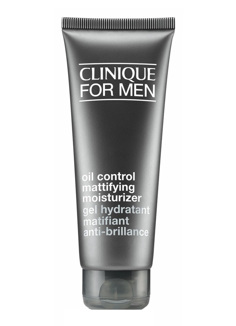 Clinique - For Men Oil Control Mattifying Moisturizer - vette huid/acné - matterende dagcrème -