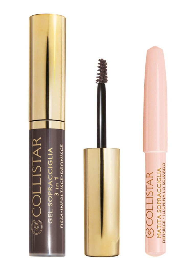 Collistar - Perfect Eyebrows Kit - wenkbrauw kit - 3 Silvana Brunette