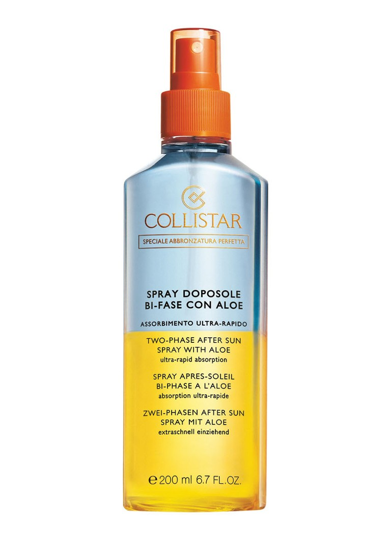 Collistar - Two-Phase After Sun Spray with Aloe - aftersun - null