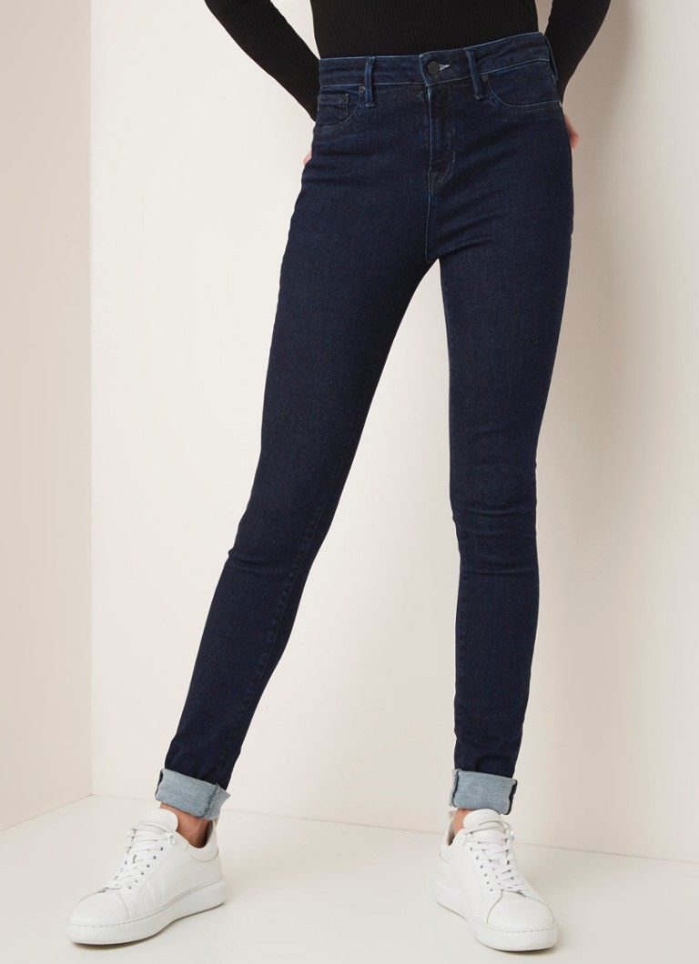 Denham - Needle RFM+ high waist skinny fit jeans in donkere wassing - Indigo