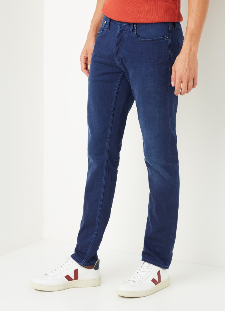 Denham - Razor straight fit jeans met stretch - Indigo
