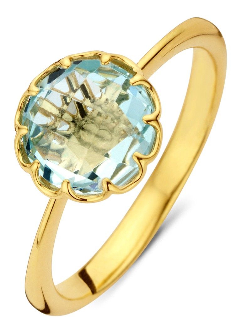 Diamond Point - Geelgouden ring 2.00 ct topaas Earth - Geelgoud