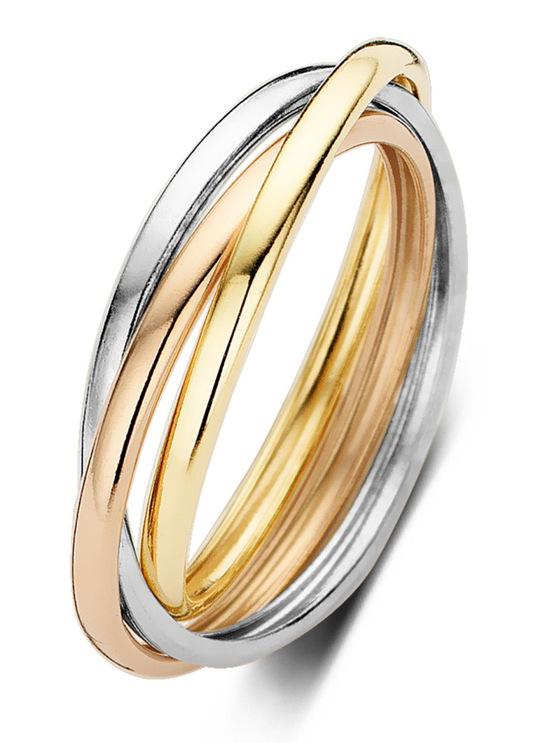 Diamond Point - Gouden ring Circle of Life - Goud