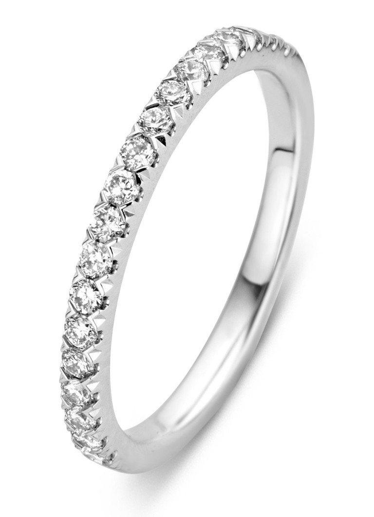 Diamond Point - Witgouden ring 0.33 ct diamant Alliance - Witgoud
