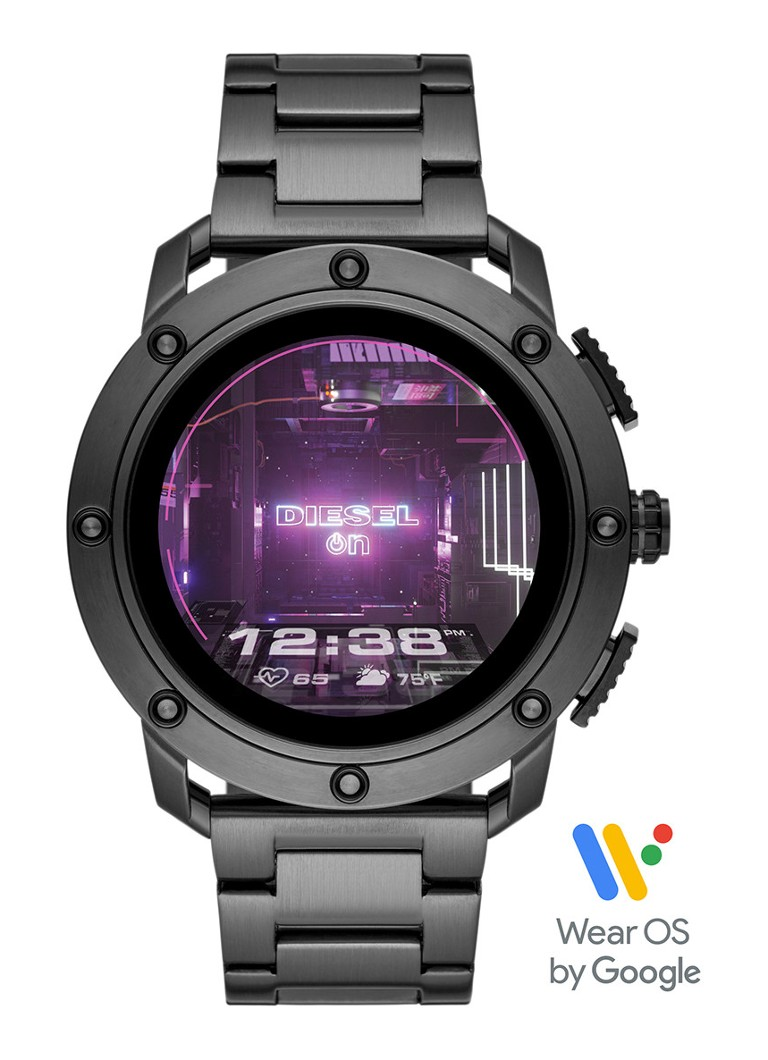 Diesel - Axial Display smartwatch Gen 5 DZT2017 - Donkergrijs