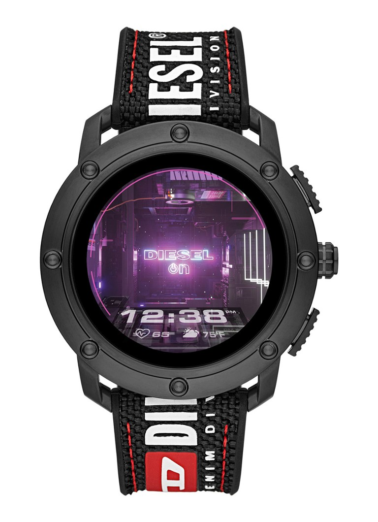 Diesel - Axial Gen 5 Display smartwatch DZT2022 - Zwart