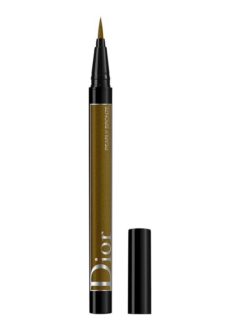 DIOR - Diorshow On Stage Liner - vloeibare eyeliner - 466 Pearly Bronze