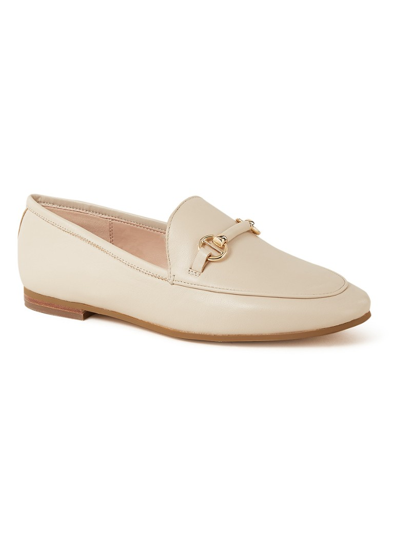 Dune London - Guiltt 2 loafer van leer - Zand