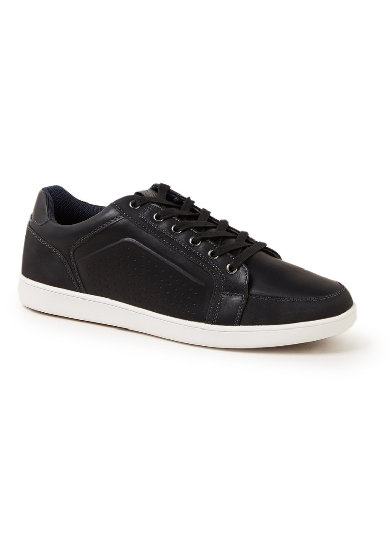 Dune London - Tatos sneaker met logo  - Zwart