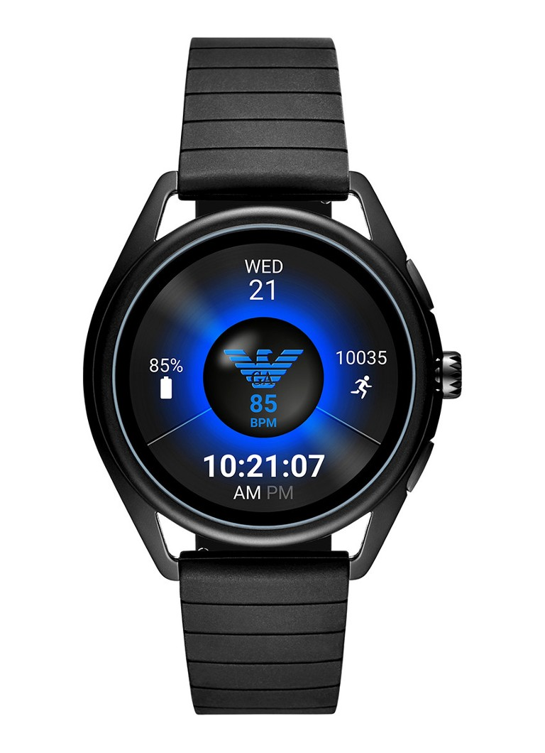 Emporio Armani - Connected Display Smartwatch Gen 4 ART5017 - Zwart