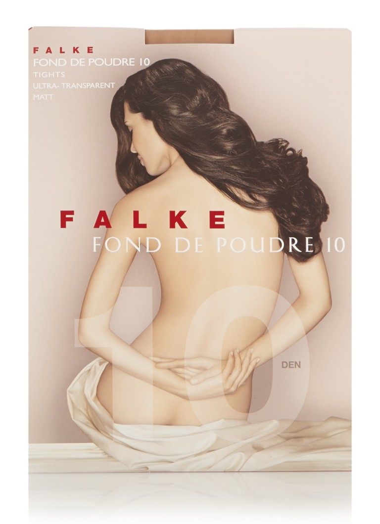 Falke - Fond de Poudre panty in 10 denier powder - Naturel