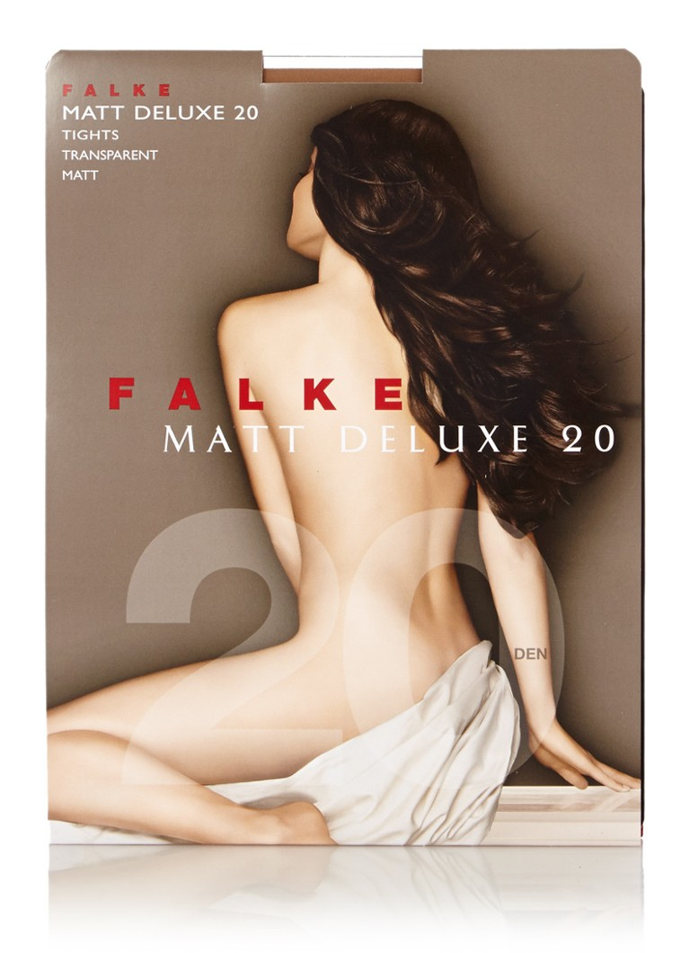 Falke - Matt Deluxe panty in 20 denier powder new - Naturel