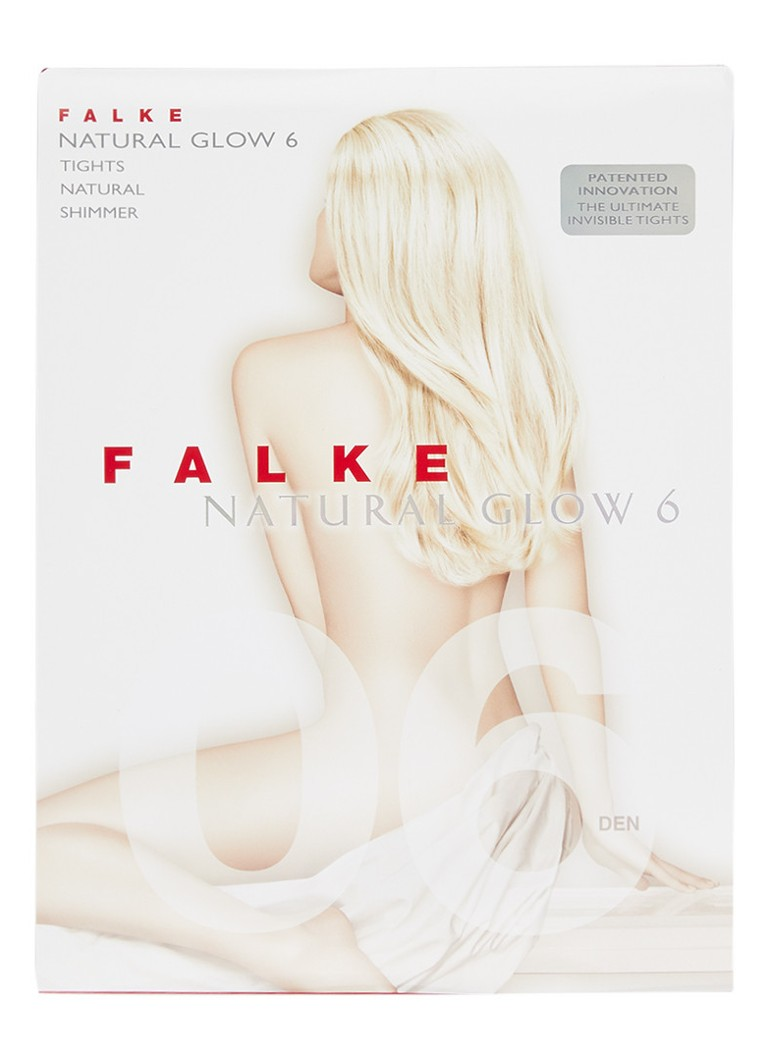 Falke - Natural Glow panty in 6 denier - Beige