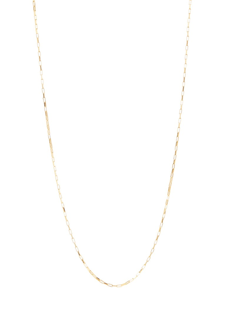 Fashionology - Long Link ketting verguld - Goud