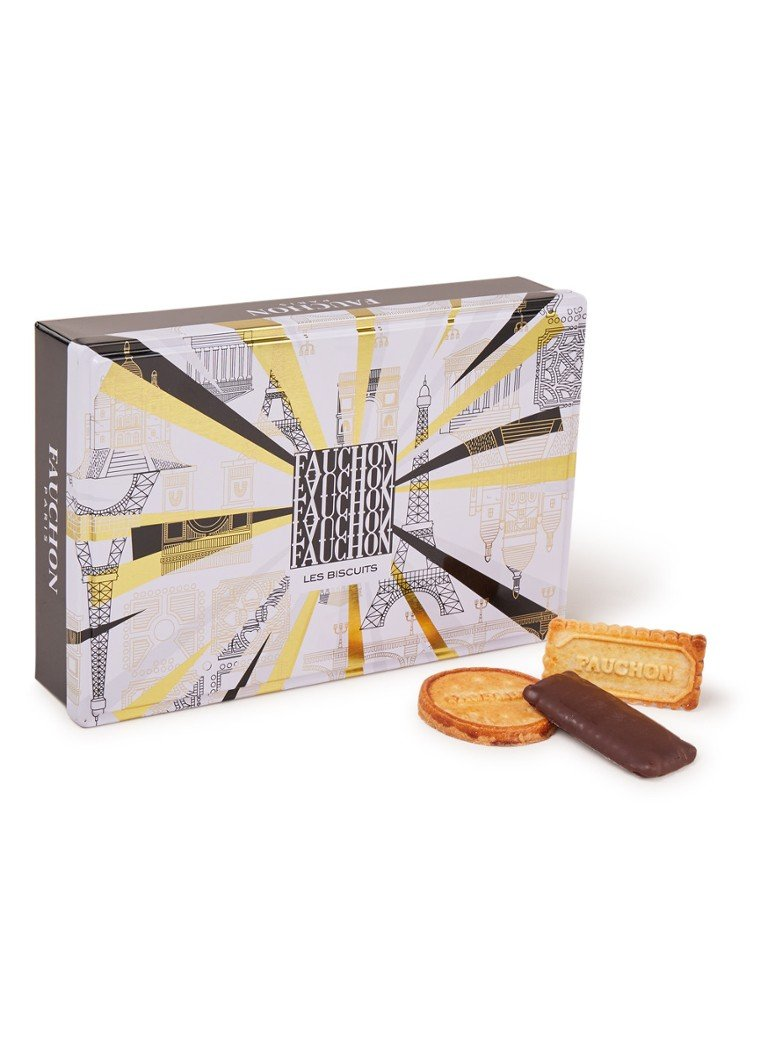 Fauchon Paris - Biscuit assortiment in doos 200 gram - null