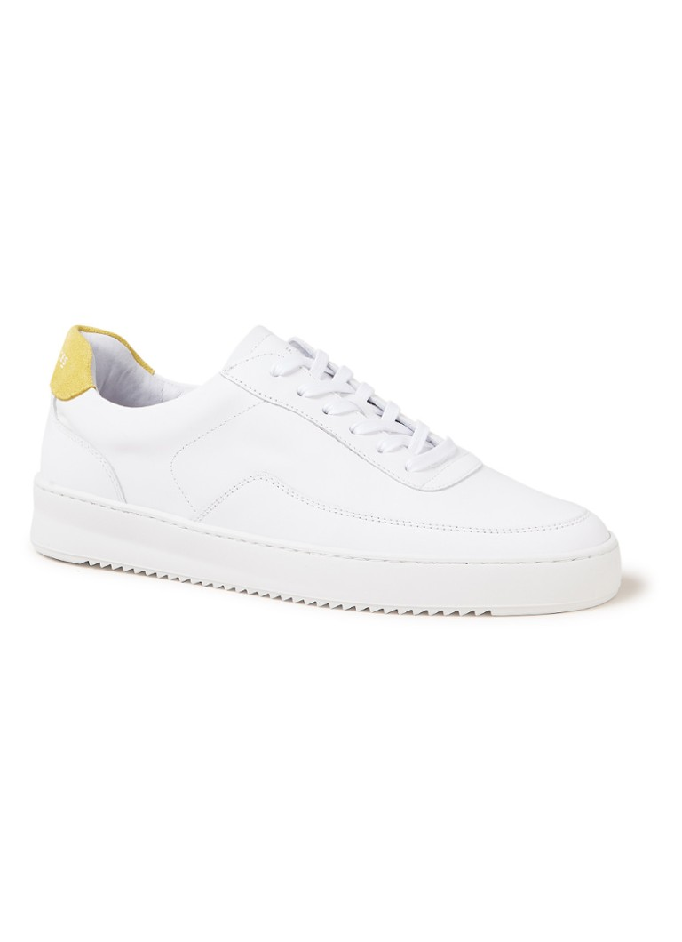 Filling Pieces - Mondo 2.0 Ripple sneaker van leer - Wit