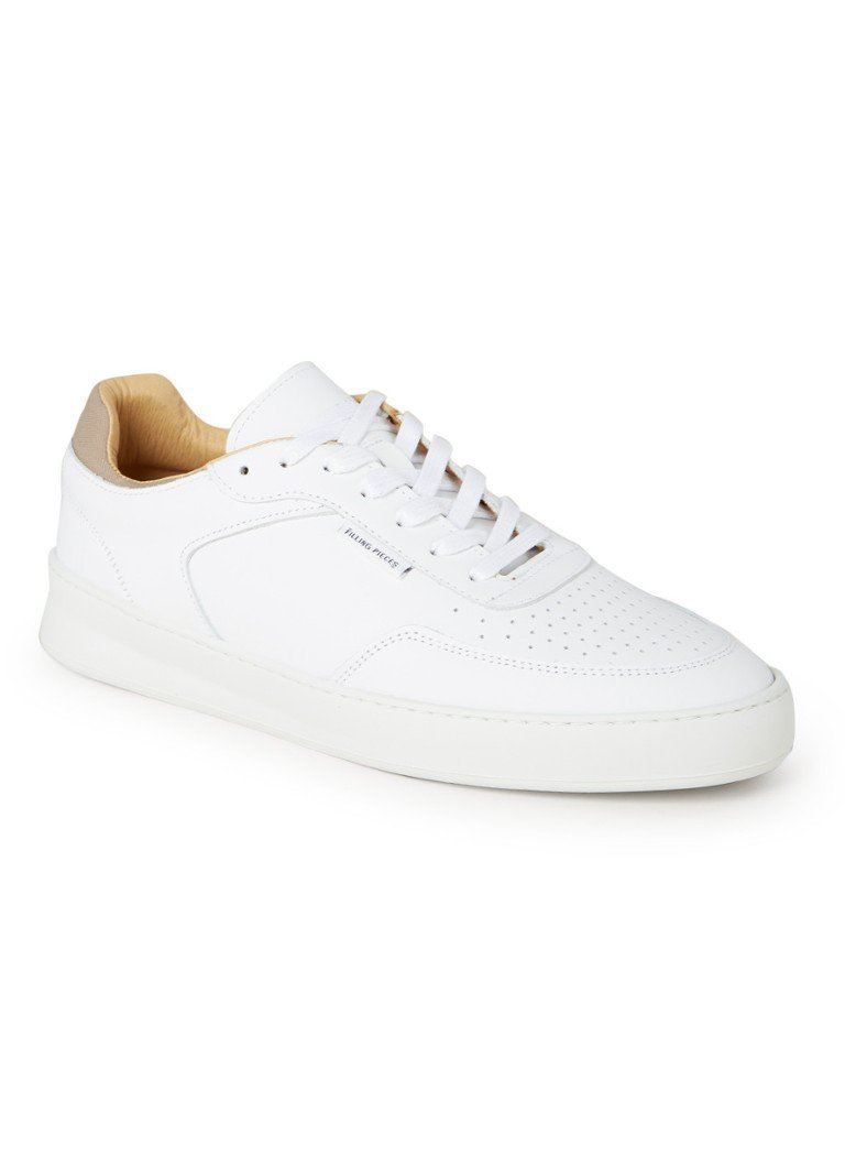 Filling Pieces - Spate Plain Phase sneaker van nappa leer - Wit